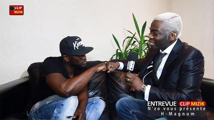Entrevue Clip Mizik avec H-Magnum présenté par N'zo