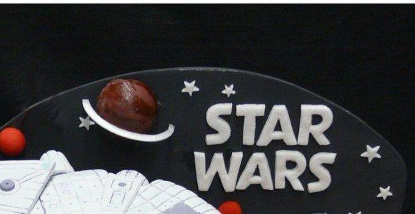 Brilliant Star Wars Birthday Cake