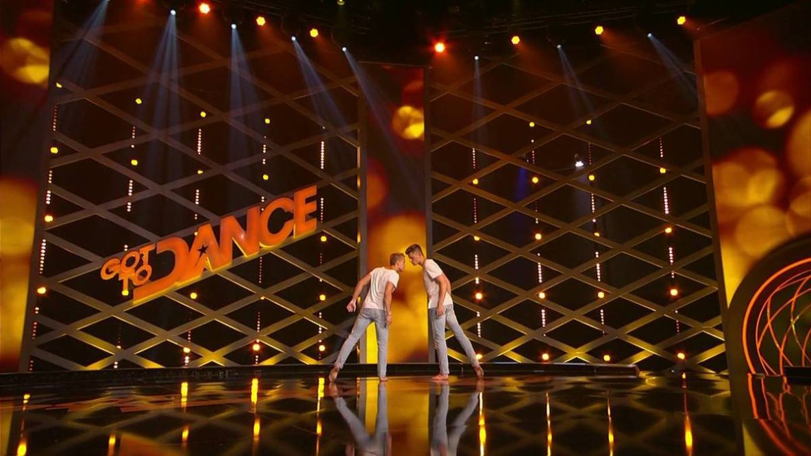 Art en Chemin sur la route de la danse avec le duo Piti, les stars incontestées de Got to danse Germany 2015