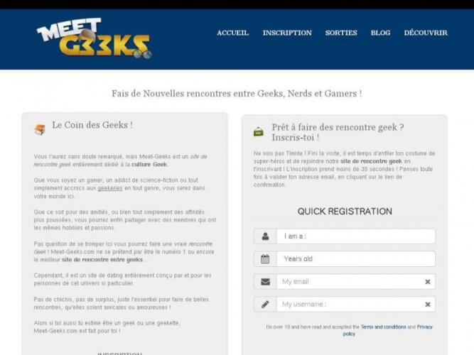 Mon avis sur Meet-Geeks.com , le site de rencontre entre geeks
