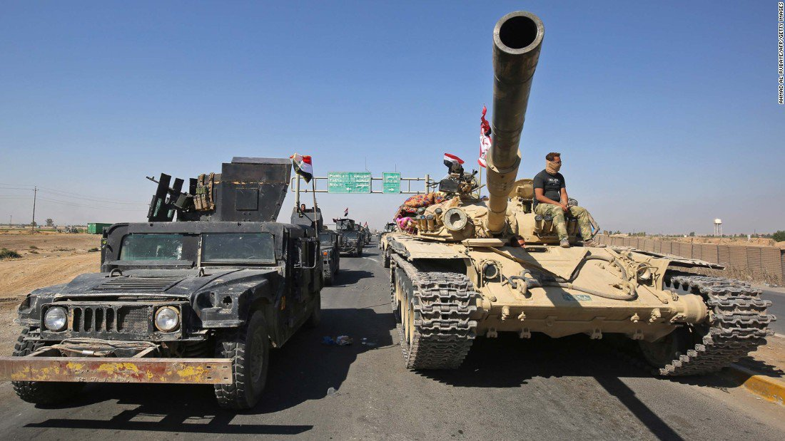 Iraqi forces take key city Kirkuk from Kurdish control