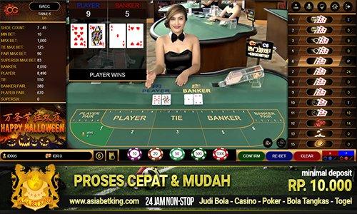 Situs Agen Judi Resmi Oriental Casino Online Minimal Bet 1000
