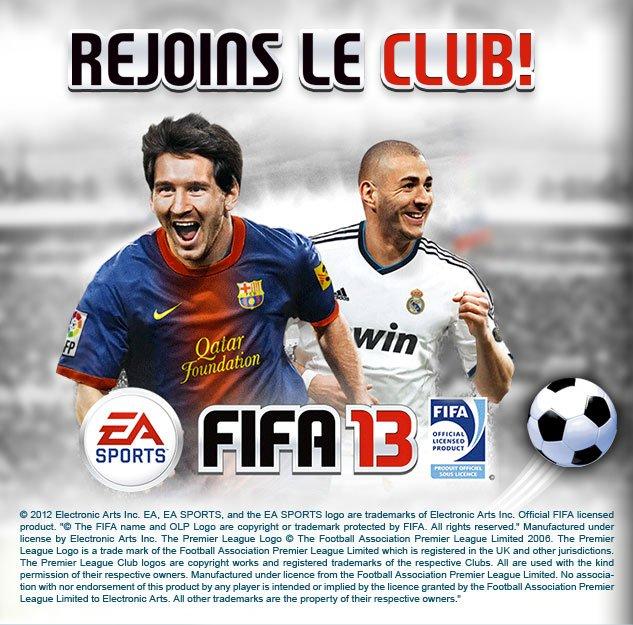 KKO-store, télécharger EA SPORTS FIFA 13