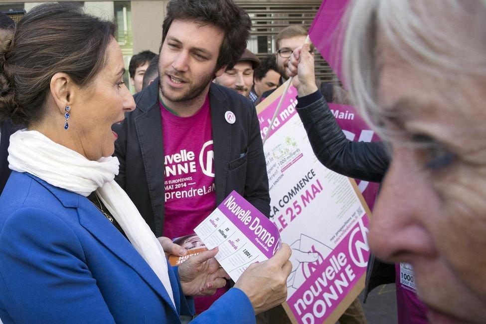 Lancé il y a six mois, le parti de l'économiste Pierre Larrouturou espère dépasser les 3% pour son premier grand rendez-vous électoral.