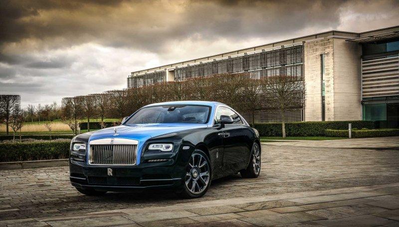 A bespoke Rolls-Royce Wraith designed by Mohammed Kazem