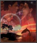 Montage de Kajol et Sharukh