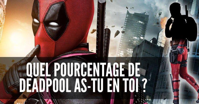 Test de personnalité : quel pourcentage de Deadpool as-tu en toi ?