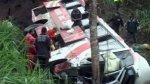 Accident de bus en Equateur: 40 morts