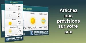 METEO-France- Prévisions  gratuites à 10 jours sur toutes les villes de la métropole