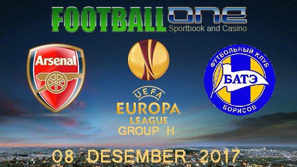 Prediksi ARSENAL vs BATE 08 Desember 2017