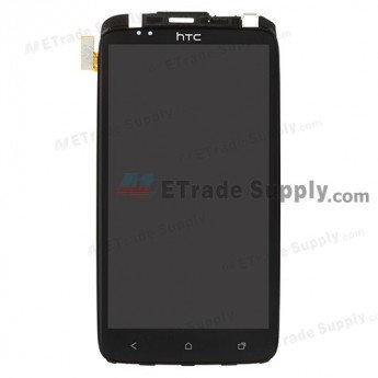 HTC One XL LCD Screen and Digitizer Assembly with Frame