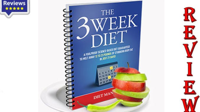 3 weeks diet plan to lose 30 pounds