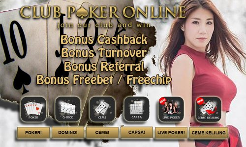 QQ Poker Bonus Freechip Freebet Cashback Turnover Referral