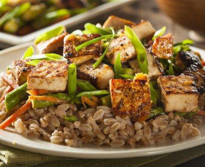 Poêlée au tofu
