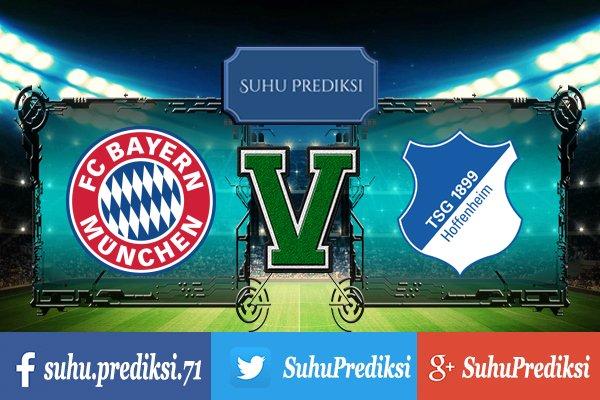 Prediksi Bola Bayern Munchen Vs Hoffenheim 27 Januari 2018