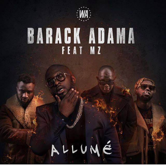 """Découvrez le nouveau single de Barack Adma """" Allumé """" avec la MZ"""