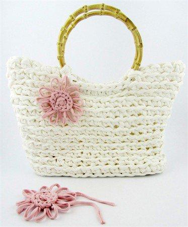 Tuto sac au crochet XL avec Hoooked Zpagetti DMC