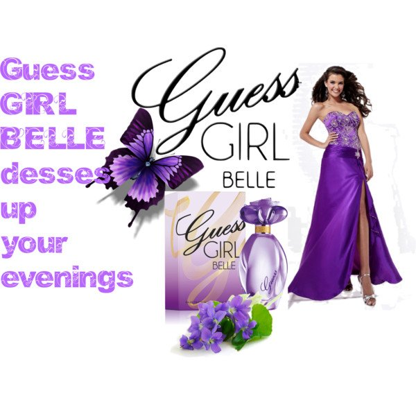 Be Flirtatious with GUESS Girl Belle