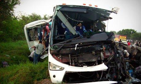 Mexico bus crash kills 43