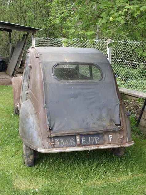 2CV AZ 1955. | 2cv | Cars, motorcycles, Cars, Citroen ds