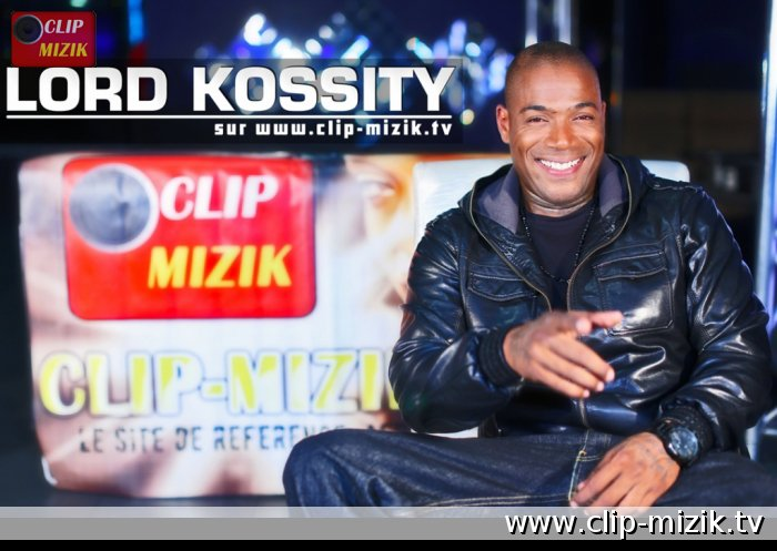 Fond écran Lord Kossity - Photo Clip Mizik TV