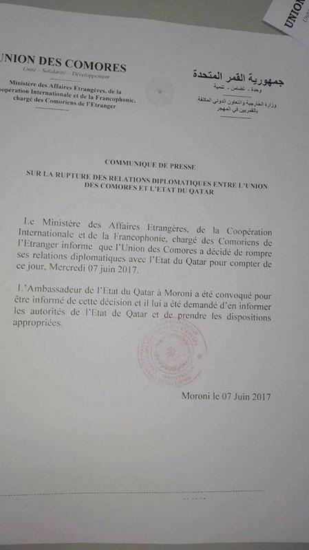 Non, pas avec le Qatar !