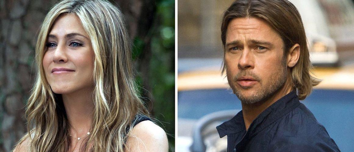 Brad Pitt échange des SMS avec Jennifer Aniston… Et si il en pinçait encore pour elle ?