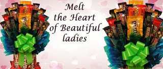 Happiness Delivered {Life.Love.Inspire.}: Sweet Bouquet of Candies: Melt the Heart of Beautiful ladies