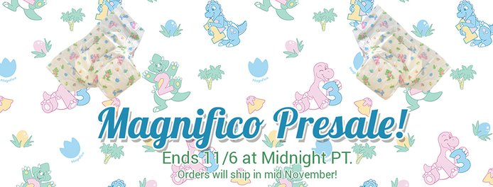 New Magnifico diaper by Bambino!