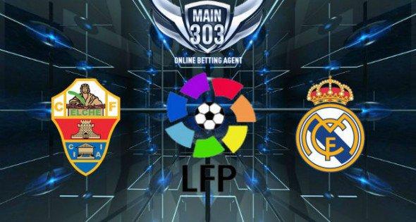 Prediksi Elche vs Real Madrid 23 Februari 2015 Primera Divis