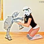 Sexy Star Wars and Other Cosplay by Naomi VonKreeps [Pics]