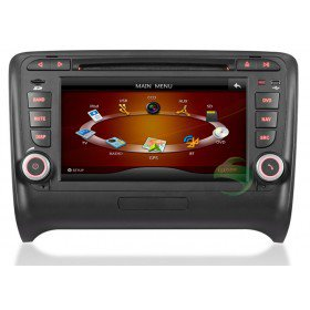 In-Dash Auto DVD Gps navigation Stereo für Audi TT mit Radio TV Bluetooth Ipod