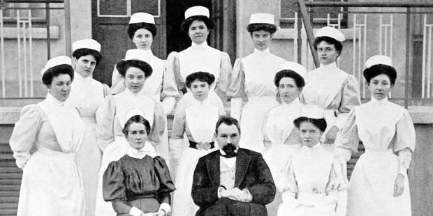 """""""Miss Cavell, le parcours d'une infirmière et d'une résistante britannique à Bruxelles"""""""