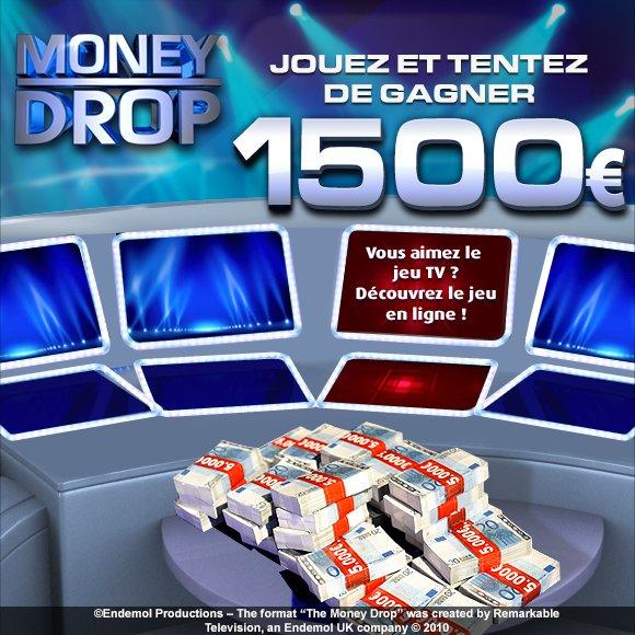 Exclusif : jouez et tentez de gagner 1 500 euros avec MoneyDrop