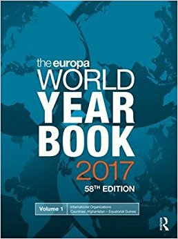 The Europa World Year Book 2017: Europa Publications: 9781857438888: Amazon.com: Books