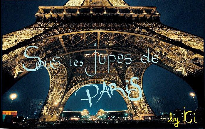 Sous les jupes de Paris... Mon deuxième SLAM ^^