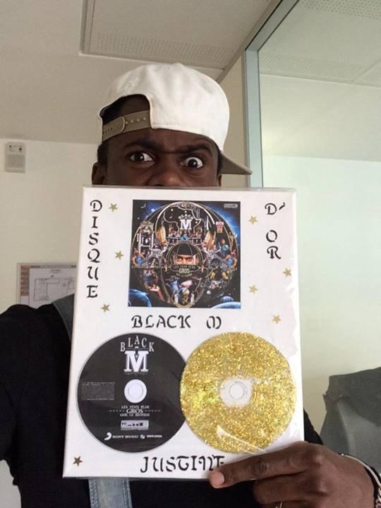 Black Mescrimes est disque d'or avec son album Les Yeux plus gros que le Monde