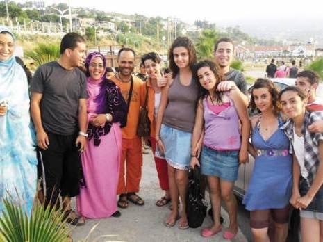 Diaspora Saharaui: Des enfants sahraouis h�tes de Tigzirt (Alg�rie)