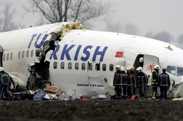 25-02-2009 - Aéroport d'Amsterdam à Schipol : Un Boeing 737-800 de ...