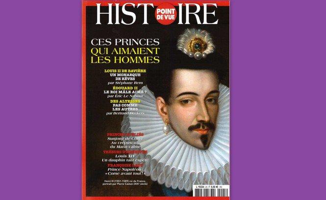 «Point de vue-Histoire» s'intéresse «aux princes qui aimaient les hommes»