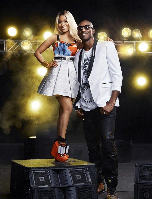 Nicki Minaj and Kobe Bryant team up for cover of ESPN the Magazine