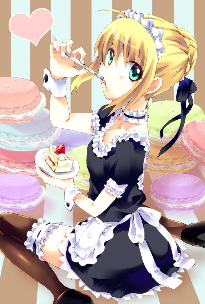 Random Anime Girls - Saber - Fate Stay Night
