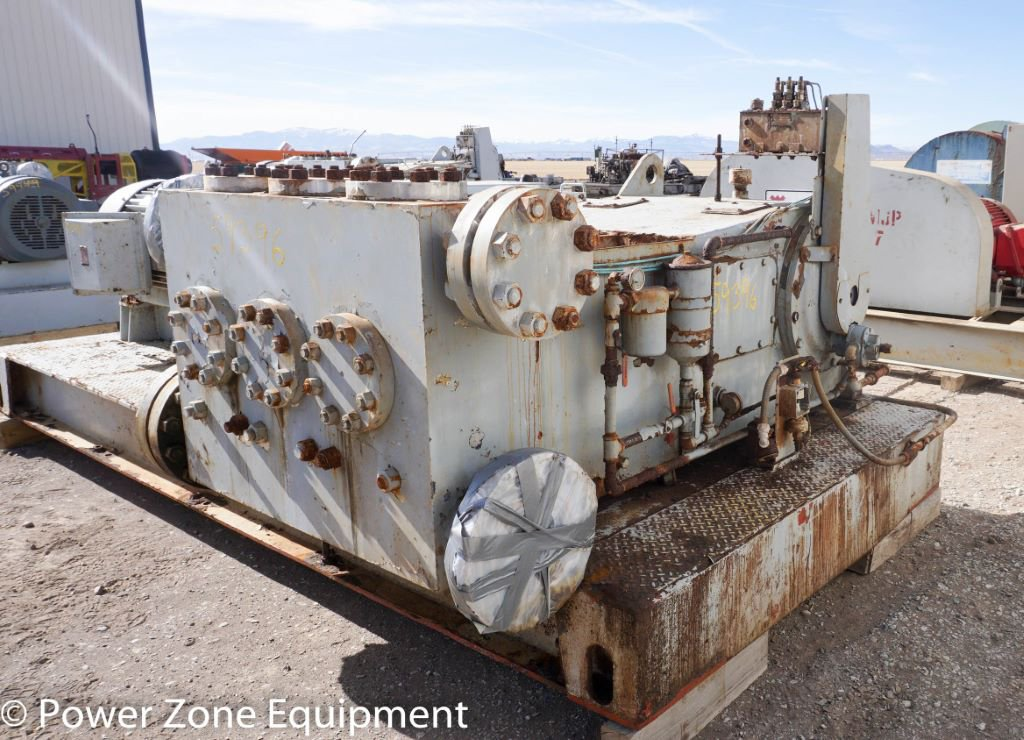 Used Oilwell A-348-5 Triplex Pump Package For Sale - Stock No 59396