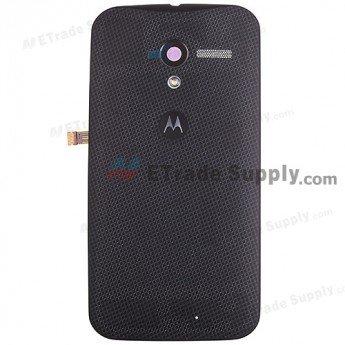 Motorola Moto X XT1058 Woven Battery Door - Black