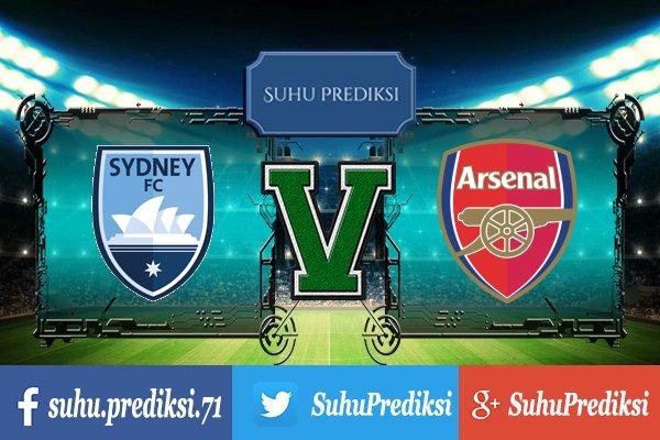 Prediksi Bola Sydney Vs Arsenal 13 Juli 2017