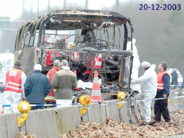 17-04-2012 - Fin Enquête de l'accident de Dour Hensies - Un autocar...