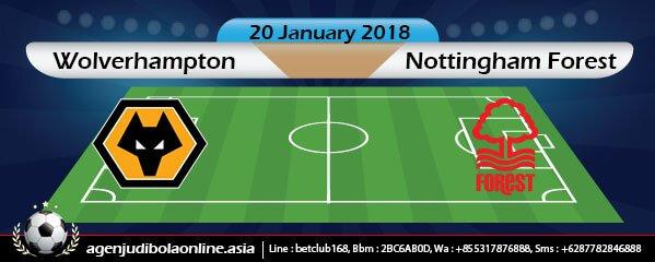 Prediksi Wolverhampton Wanderers Vs Nottingham Forest 20 January 2018