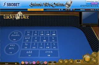 Solusi 303 Online:  Cara Main Judi Dadu Lucky Dice Online SBOBET