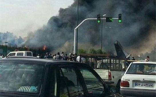 Iran: près de 50 morts dans le crash d'un avion à Téhéran