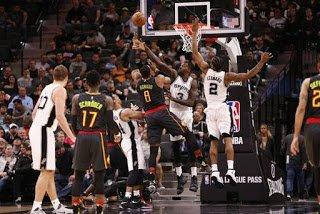 99-Bolabasket: Atlanta Hawks Tak Berkutik di Markas Spurs